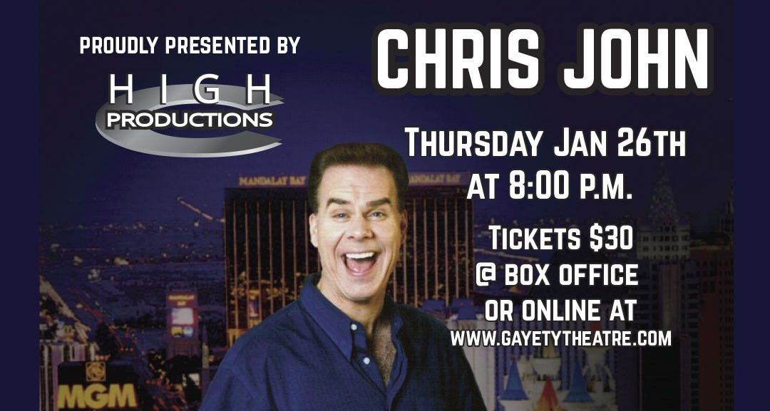 Chris John – January 26th